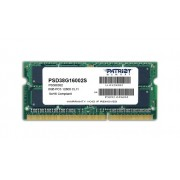 Patriot Memoria RAM 8GB PC3-12800, PSD38G16002S