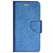 Zaoma Diary Type Flip Cover for PANASONIC P55 NOVO 4G - BLUE