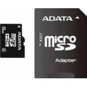 Card de Memorie ADATA microSDHC 8GB Class4 cu adaptor