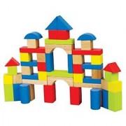 Hape Maple Wooden Block Set (50 Pieces)