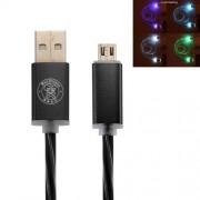 Cablu Incarcare Si Sincronizare Date Samsung HTC Huawei Allview Lenovo MicroUSB Cu LED