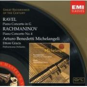 Arturo Beneditti Michelangeli - Ravel & Rachmaninov: Piano Concertos (0724356723825) (1 CD)