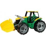 Lena 02057-puissance : tracteur avec grand accès-vert/jaune-dimensions : env. 62 cm