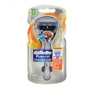 Gillette Fusion Proglide Flexball Chrome 1Ks Shaver With A Single Warhead Per Uomo (Cosmetic)