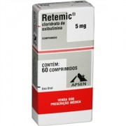 Retemic 5mg c/ 60 Comprimidos