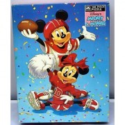 Disney 100pc. Puzzle - Football Fun With Mickey and Minnie Mouse