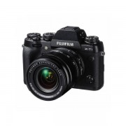 Aparat foto Mirrorless Fujifilm X-T1 16.3 Mpx Black Kit XF EBC 18-55mm