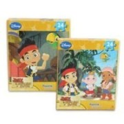 Jake and the Never Land Pirates 24 Piece Shaped Puzzle (Assorted, Designs Vary)