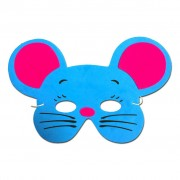 Blue Mouse Childrens Foam Animal Mask