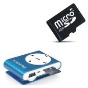 Tronica Bold Mp3 Player- Blue