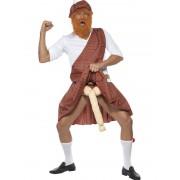 Costum carnaval barbati scotian superdotat