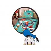 TRAPUNTA PIUMONE Disney PAPERINO DONALD DUCK SINGOLO UNA PIAZZA DOUBLE FACE