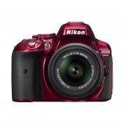 Nikon D5300 24.2 MP CMOS Digital SLR Camera with 18-55mm f/3.5-5.6G ED VR II AF-S DX NIKKOR Zoom Lens (Red)