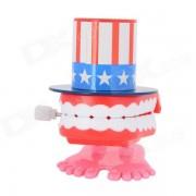 Toy dientes de plastico terminan parlanchines