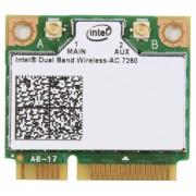 LAN Card, Mini PCI-E, Intel, Bluetooth/Wi-Fi, 867Mbps, IEEE 802.11a/b/g/n/ac (7260.HMWWB.R)