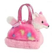 Aurora World Fancy Pals Pet Carrier, Tye Dye Pink