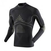 X-Bionic Adultes Vêtements fonctionnels Man Acc Evo UW Haut LG SL Turtle Cou - Anthracite/Gris Perle, L/XL
