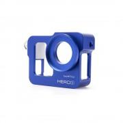 Carcasa de protectie din aluminiu GoPro Hero 3 (Albastru)
