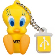 Stick USB 8GB Looney Tunes Tweety L100 Galben EMTEC