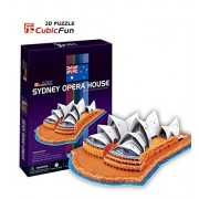 Puzzle Game for Children 3+ Yr - 3D Sydney Opera House Puzzle/85 Pieces