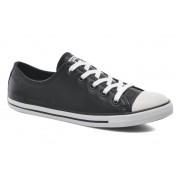 Converse - All Star Dainty Cuir Ox W by Converse - Sneaker für Damen / schwarz