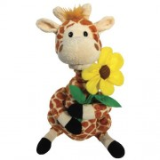Animated Love Giraffe Plush Stuffed Animal - Sings Your Love Lifts Me Higher