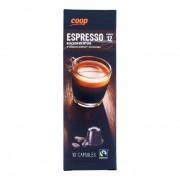 Coop Espresso capsules sterkte 12