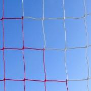 Plasa poarta fotbal 7,5 x 2,5m, 2x2m adancime, fir 3mm