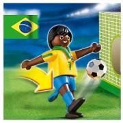 Playmobil Soccer Player Brazil