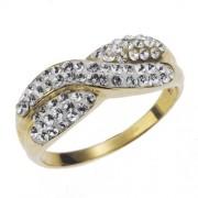 Evoke-Gold'n'Ice - 269370002L-017 - Bague Femme - Or Jaune 375/1000 - T54