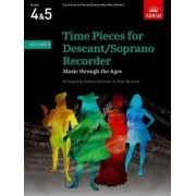 Time Pieces for Descant/Soprano Recorder, Volume 2 by Peter Bowman