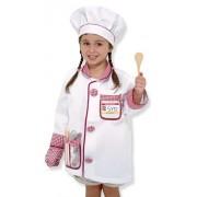 Melissa and Doug verkleedkleding Chef kok