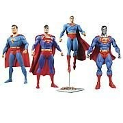 Superman Through the Ages Action Figure Gift Set by Diamond Comic Distributors