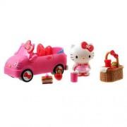 Hello Kitty Sweet Rides Doll Playset Picnic Fun Car