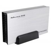 "Thermaltake Thermaltake Muse 5G 3.5"" USB 3.0 External HDD Enclosure, structura din aluminiu pentru o racire mai buna, compatibilitate: hard disk-uri SATA de 3.5"", interfata: USB 3.0, viteza de transfer: 5.0 Gbps (USB 3.0), cabluri incluse: 1x USB 3.0 ST00"