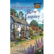 The Hangman's Row Enquiry by Ann Purser