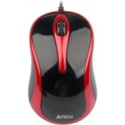 Mouse A4Tech Optic N-350 (Negru-rosu)