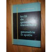Lectii De Geometrie Elementara Geometrie In Spatiu - Jacques Hadamard
