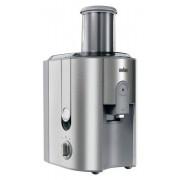 BRAUN J700 Multiquick 7, Sokowirówka, 1000 W, duża tuba 75 mm, 1,25 l soku, system niekapiący, solidna