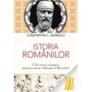 Istoria romanilor. Vol. I, II, III (necartonat)