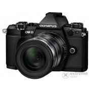 Kit aparat foto Olympus OM-D E-M5 Mark II (obiectiv12-50, Black