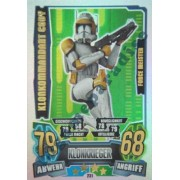 Star Wars Force Attax Clone Wars Serie 4 - Clonación Comandante Cody - Force Meister etc.