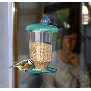 Hranitoare pasari pentru fereastra cu ventuza