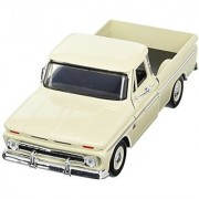 Showcasts Collectibles 1966 Chevy C10 Fleetside Pickup Truck 1/24 Diecast Model Car Cashmere