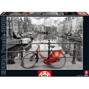 EDUCA 16018 Puzzle B&W Genuine Amsterdam, 3000 bucăţi