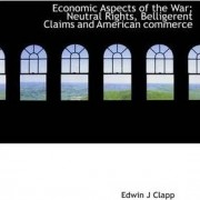 Economic Aspects of the War; Neutral Rights, Belligerent Claims and American Commerce by Edwin J Clapp