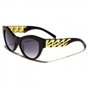 VG Eyewear zonnebril Cat Eye Gold Chain Black vg29024