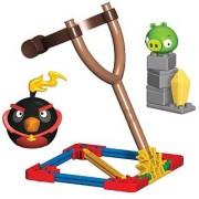 KNEX Angry Birds Fire Bomb Bird versus Small Pig Building Set