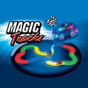 Magic Circuit Magique Tracks Flexible Lumineux Phosphorescent 240 Pièces Incroyablement Amusant Et Modulable Qui Brille Dans Le Noir
