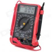 """UNI-T UT30B 2.0"""" LCD Multipurpose Digital Multimeter - Red + Black (1 x 9V Battery)"""